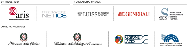 Forum S@lute Digitale - loghi sponsor
