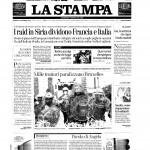 La Stampa_prima pagina